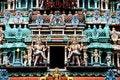 Free Singapore: Sikhara Tower Deities On Hindu Temple Stock Photos - 8503423