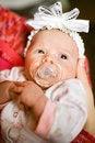 Free Adorable Baby Girl Stock Image - 8505341