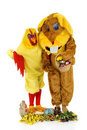 Free Easter Bunny And Chicken Royalty Free Stock Photo - 8507275