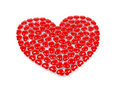 Free One Isolated Red Heart Royalty Free Stock Images - 8507429