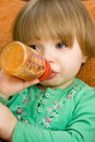 Free Baby Drinking Royalty Free Stock Images - 8509779