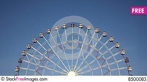 Free Half Joy Wheel And Blue Sky Stock Photos - 8500083