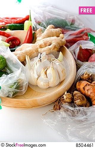 Free Seasoning Ingredients Stock Image - 8504461
