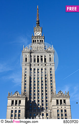Free Palace Of Culture Stock Photo - 8505920