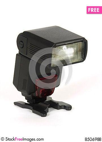 Free Black Automatic Flash Royalty Free Stock Photos - 8506988