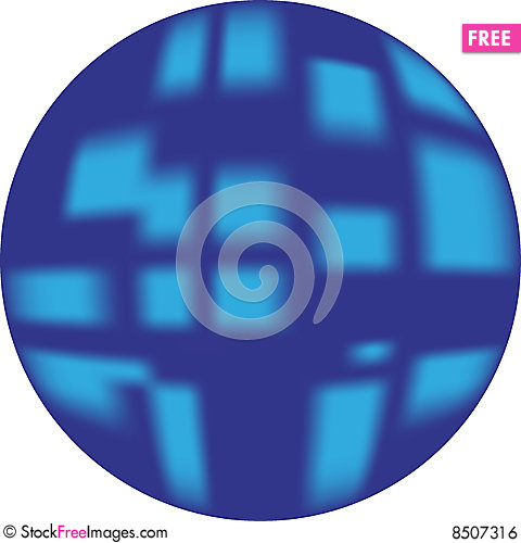 Free Blue Button (web Button Looking 3d) Royalty Free Stock Image - 8507316