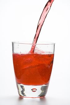 Fresh Glass Cool Cocktail Royalty Free Stock Photo