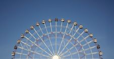 Free Half Joy Wheel And Blue Sky Stock Photos - 8500083