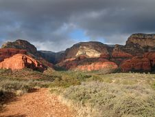 Free Red Cliffs In Sedona Stock Photography - 8500092