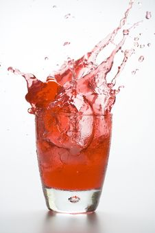 Fresh Glass Cool Cocktail Royalty Free Stock Photography