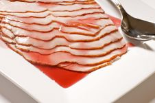Free Turkey Breast With Cranberry Glaze Royalty Free Stock Image - 8500356