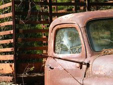 Free 160 Old Truck Cab Royalty Free Stock Photo - 8500365