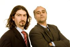 Business Men Royalty Free Stock Photos