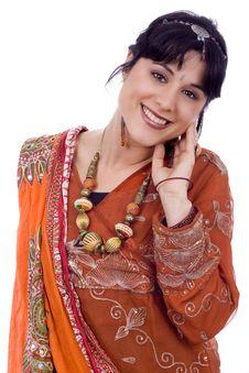 Free Beautiful Smiling Woman Stock Photo - 8500380