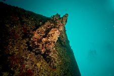 Free Port Side Hill Anchor Of The Thistlegorm Royalty Free Stock Photography - 8500597