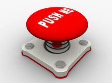 Free Red Start Button Stock Photo - 8500850