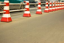 Free Traffic Barrier Stock Photography - 8501592