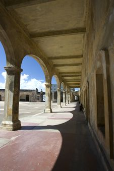 Arches Of Fort San Cristobal Stock Images