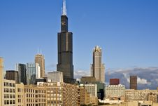 Free Panorama Of South Loop Stock Photos - 8501913