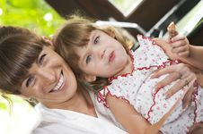 Free With Mama Stock Photography - 8501952