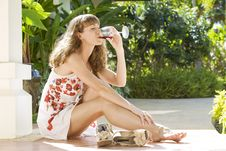 Free Summer Wine Stock Photo - 8502030
