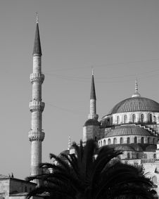 Free Blue Mosque Stock Images - 8502054