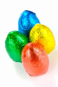 Free Easter Eggs Royalty Free Stock Photography - 8502117