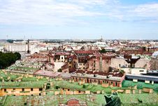 Free The View From A Roof In St.-Petersburg Royalty Free Stock Images - 8502149