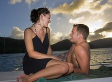 Free Happy Couple On Vacation Stock Images - 8502184