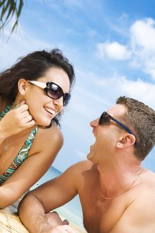 Free Summer Couple Royalty Free Stock Image - 8502186