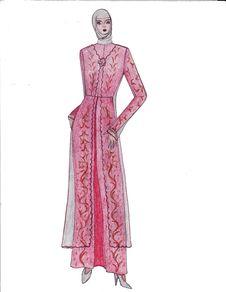 Free Beautiful Illustration Of Moslem S Fashion Royalty Free Stock Images - 8502249