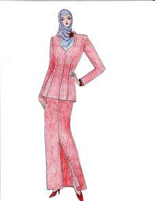 Free Beautiful Illustration Of Moslem S Fashion Stock Photo - 8502390
