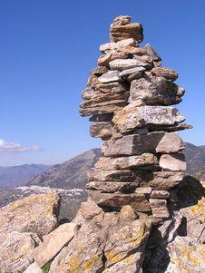 Free The Summit Monte Mayor Stock Photo - 8502880