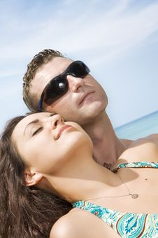 Free Summer Couple Stock Images - 8502954
