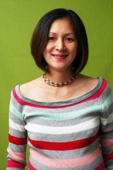 Free Asian Lady Smiling Stock Photos - 8503123