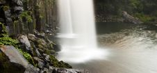 Free View From Behind A Waterfall Royalty Free Stock Image - 8503276