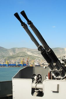 Free Antiaircraft Gun Stock Photo - 8504220