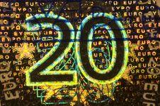 Twenty Euros Stock Photos