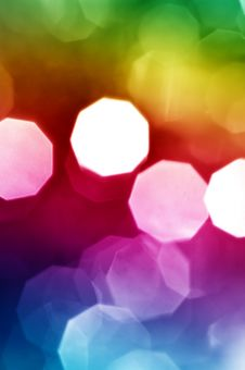 Free Beautiful Abstract Holiday Lights Stock Image - 8504951