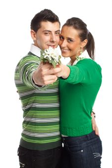 Free Happy Young Couple Stock Photos - 8505033