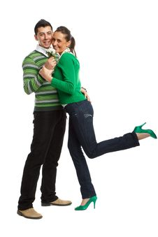 Free Happy Young Couple Royalty Free Stock Images - 8505059