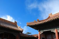 Free The Forbidden City Royalty Free Stock Images - 8505129