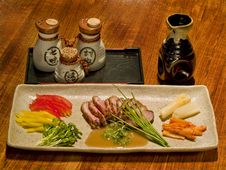 Free Beautiful Table Of Japanese Food Royalty Free Stock Photos - 8505138
