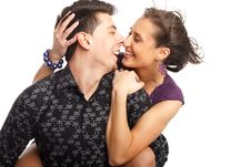 Free Happy Young Couple Stock Photo - 8505190