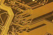 Free Computer Circuit Board Close-Up Stock Photos - 8505203