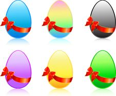 Free Easter Eggs Royalty Free Stock Photography - 8505247