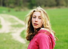 Free Pretty Teenage Girl In The Countryside Royalty Free Stock Photography - 8505607