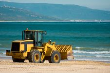 Free Digger Takes A Vacation Royalty Free Stock Images - 8505919