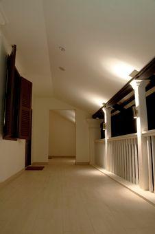 Free Holiday Resort Corridor Stock Image - 8506091