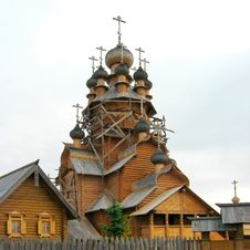 Wooden Church Of All Saints Stock Images